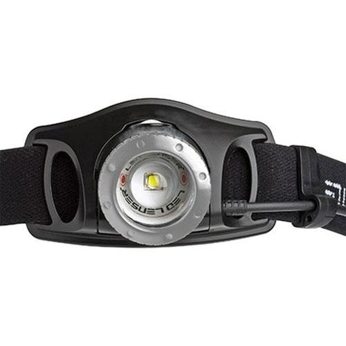 LEDLENSER H7R.2 Rechargeable LED Headlamp Black with Case